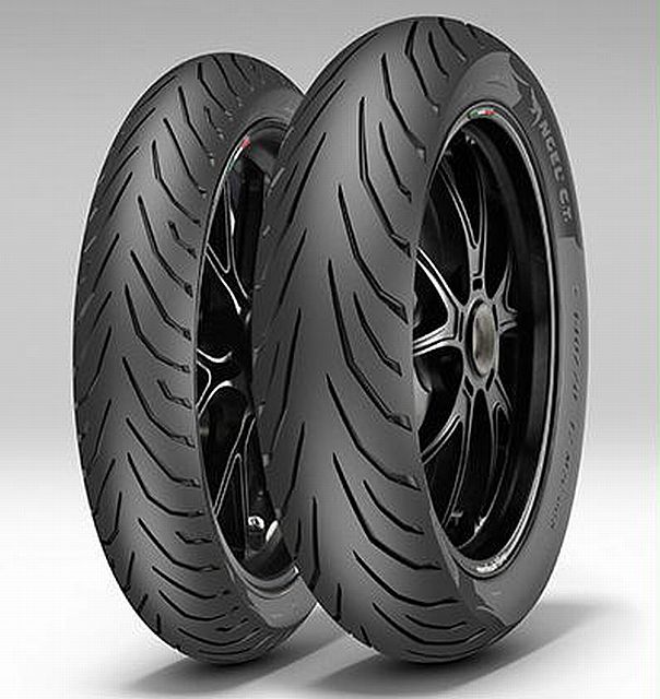 PIRELLI 100/80-14 54S TL  Angel City R