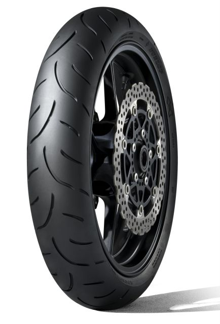DUNLOP 130/70ZR16 61W Qualifier II Front DOT0518
