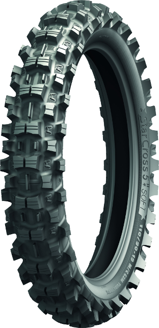 MICHELIN 100/100-18 59M TT Starcross 5 Soft R DOT4915